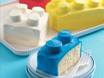 Martha Stewart Ice Cream Lego Cake
