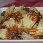 Chocolate Caramel Potato Chips