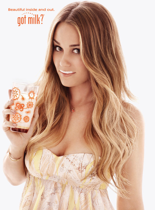 Lauren Conrad Got Milk