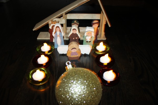 Homemade Nativity