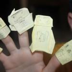 Origami Chucks 1
