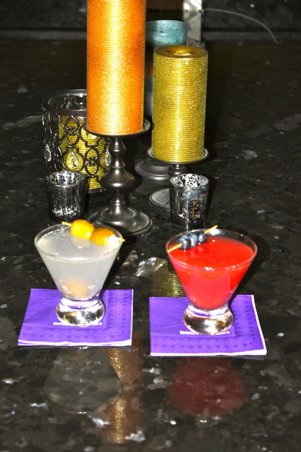 Dirty Martini & Watermelon Martini